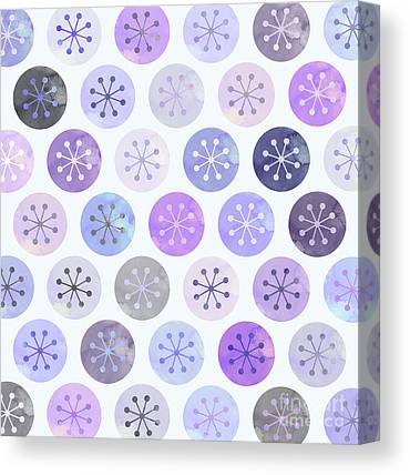 Winter Flowers Canvas Prints