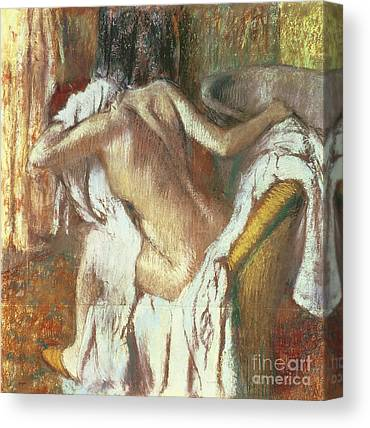 After The Bath Canvas Prints