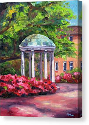 University Of North Carolina Chapel Hill Canvas Prints
