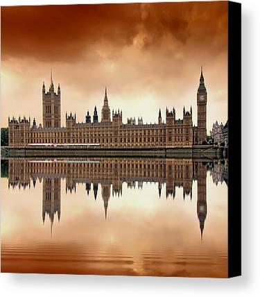 London Canvas Prints