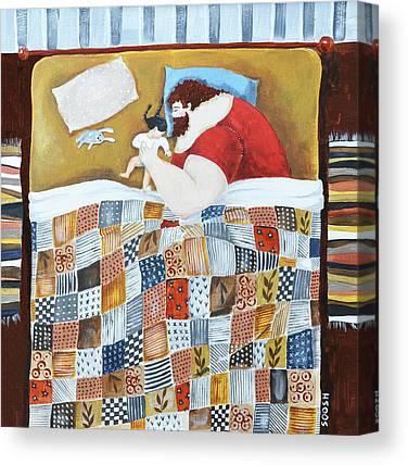 Patch Quilts Canvas Prints