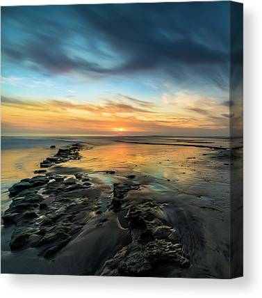 Ocean Sunset Canvas Prints