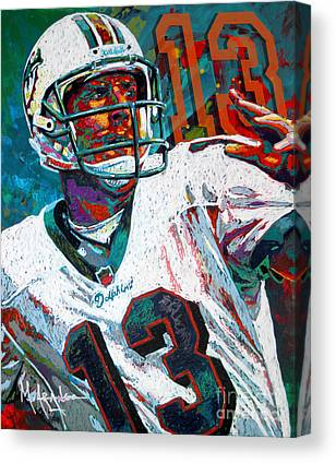 Dan Marino Canvas Prints