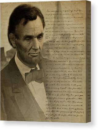 Lincoln Drawings Canvas Prints