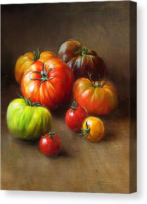 Vegetables Canvas Prints