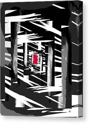 Abstract Digitale Kunst Canvas Prints