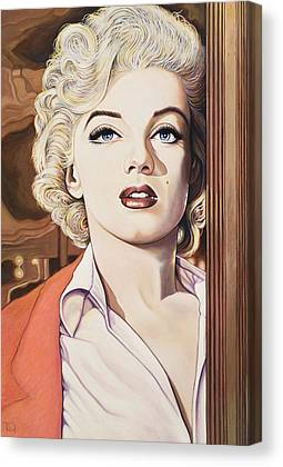 1956 Movies Paintings Canvas Prints