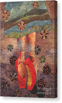 Red Shoes Tapestries Textiles Canvas Prints