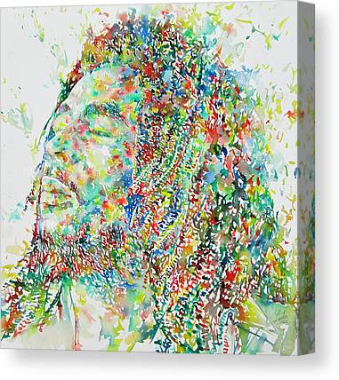 Rasta Canvas Prints