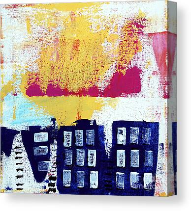 Escape Mixed Media Canvas Prints