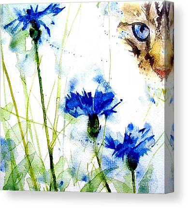 Cornflowers Canvas Prints