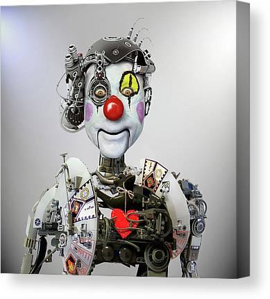 Robot Photographs Canvas Prints
