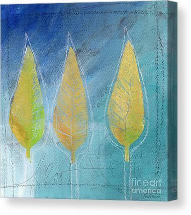 Autumn Leaves Canvas Prints
