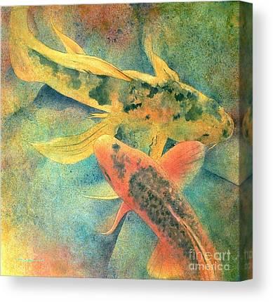 Carp Canvas Prints