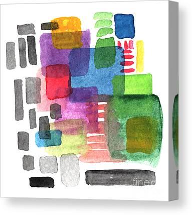Fences Mixed Media Canvas Prints