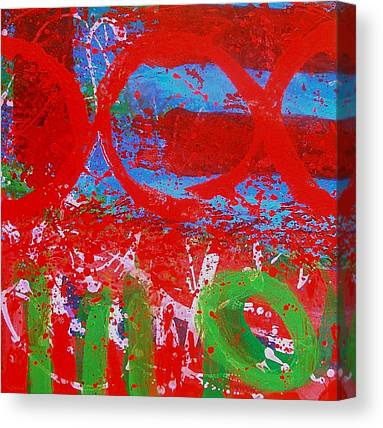 Abstract Expresionism Canvas Prints