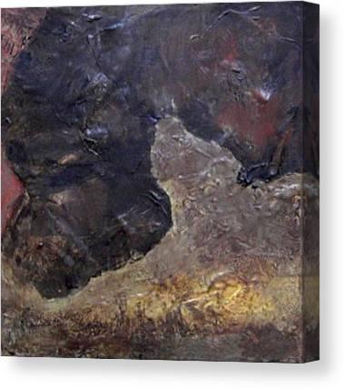Warm Gray No. 3 Canvas Prints
