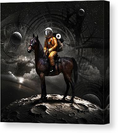 Space Suit Canvas Prints
