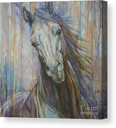 Horse Paintings Canvas Prints