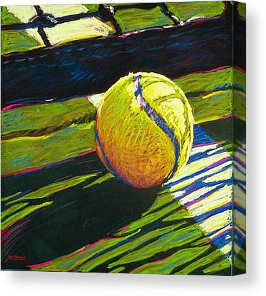 Tennis Paintings Canvas Prints