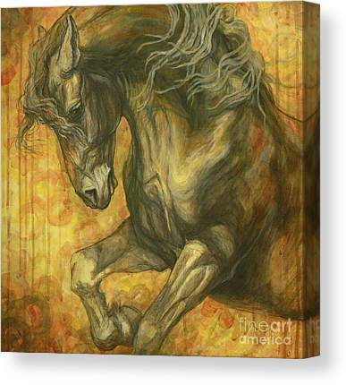 Friesian Horses Canvas Prints