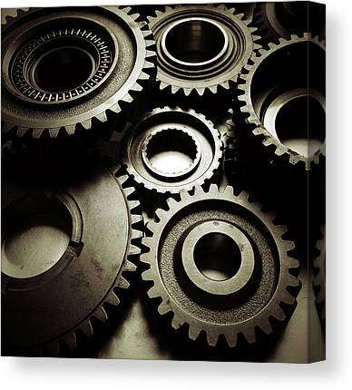 Gear Canvas Prints