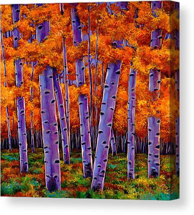 Birch Tree Canvas Prints