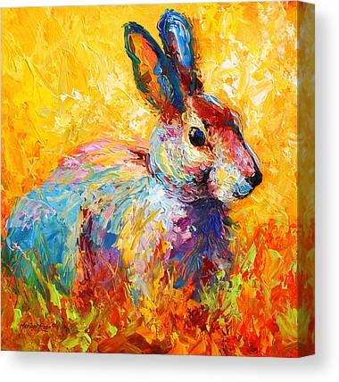 Rabbit Canvas Prints