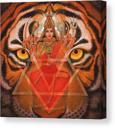 Hindu Goddess Canvas Prints