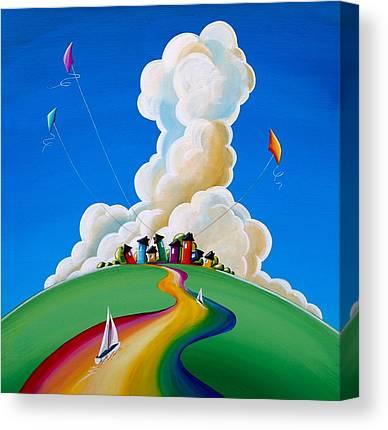 Kite Canvas Prints