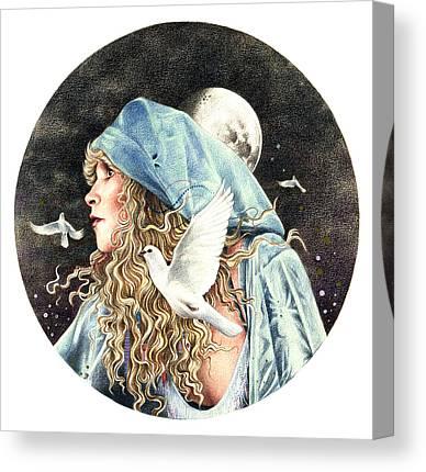 Gypsy Drawings Canvas Prints