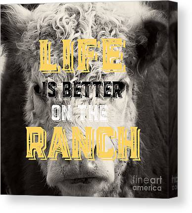 The Ranch Canvas Prints