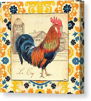 Chicken Farms Canvas Prints