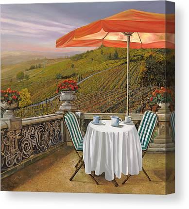 Vineyard Canvas Prints