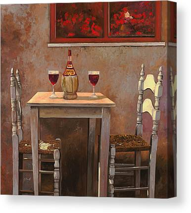 Red Chair Canvas Prints
