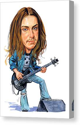 Cliff Burton Canvas Prints