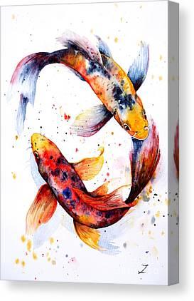 Luck Canvas Prints