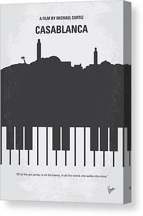 Casablanca Canvas Prints