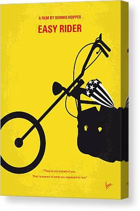 Rider Canvas Prints