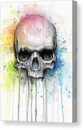 Skulls Canvas Prints