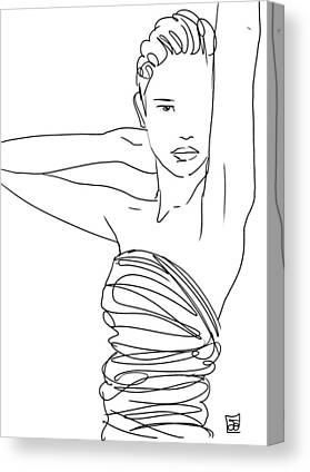 Lines Canvas Prints