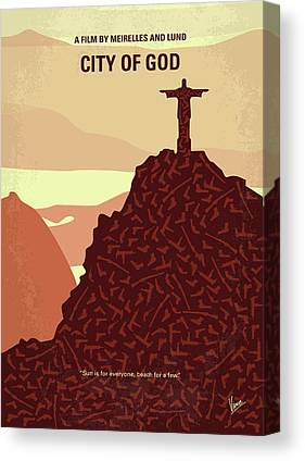 God Of War Canvas Prints