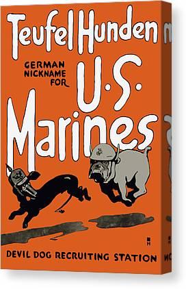 World War 1 Canvas Prints