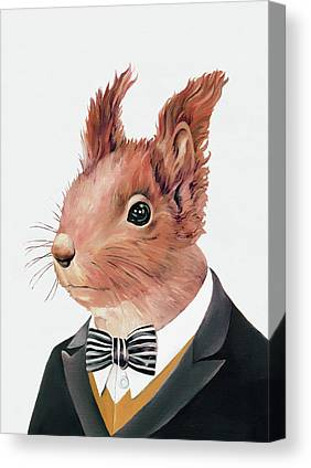 Squirrel Canvas Prints