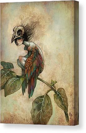 Dark Skull Canvas Prints