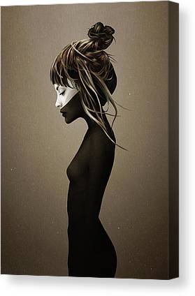 Hairstyle Canvas Prints