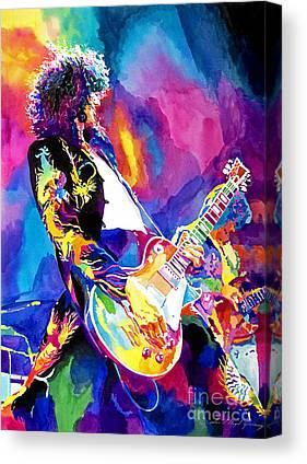 Jimmy Page Canvas Prints