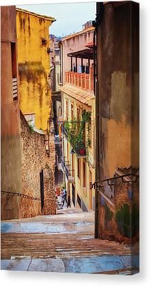 Girona Canvas Prints