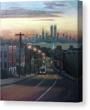Twin Towers Canvas Prints