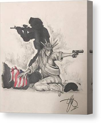 Soldier Canvas Prints